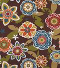 Solarium Outdoor Fabric 54\u0022-Annie Chocolate