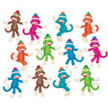 Sock Monkeys Solids Classic Accents Variety Pack, 36 Per Pack, 6 Packs
