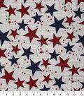 Patriotic Cotton Fabric 43\u0027\u0027-Scripted Texas Stars