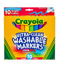 Crayola Ultra-Clean Color Max Broad Line Washable Markers-Bright Colors