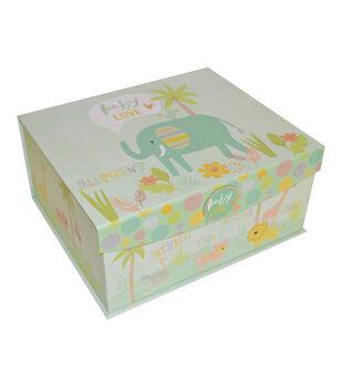 Organizing Essentials Large Flip Top Box-Zoo Animals