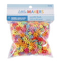 Little Makers Flat Beads-Mixed Colors