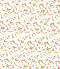 Christmas Cotton Fabric 43\u0022-Ditzy Holly & Berries