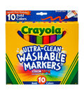 Crayola Ultra-Clean Color Max Broad Line Washable Markers-Bold Colors