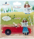 Santoro Kori Kumi II A6 Character Stamps-Road Trip