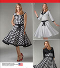 Simplicity Patterns Us1061P5-Simplicity Misses\u0027 Sew Chic Dress And Lined Jacket-12-14-16-18-20