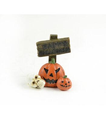Maker's Halloween Littles Sign-Happy Halloween