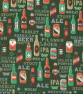 Snuggle Flannel Fabric -Beer Types