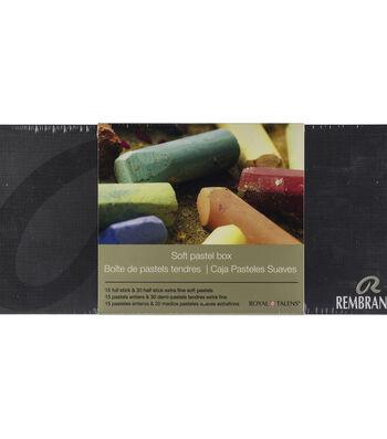 Rembrandt Half & Full Stick Soft Pastels Set 45/Pkg-General Selection