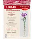 RIOLIS Combopu Cama 6\u0027\u0027x19.75\u0027\u0027 Counted Cross Stitch Kit-King of Flowers