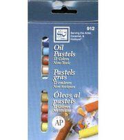 Oil Pastel Set-12 Colors, , hi-res