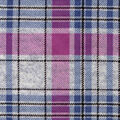 Luxe Flannel Fabric -Gray Plum Heather Plaid