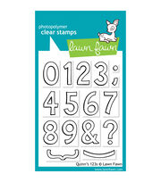 "Lawn Fawn Clear Stamps 3""X4""-Quinn's 123s, , hi-res"