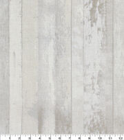 Keepsake Calico Cotton Fabric-Distressed Wood White, , hi-res