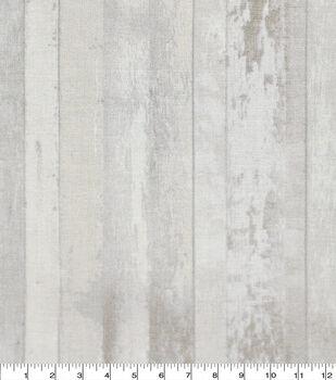 Keepsake Calico Cotton Fabric-Distressed Wood White