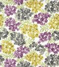 Robert Allen @ Home Print Fabric 54\u0022-Best Floral Purple