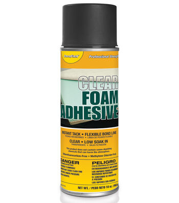 16oz Clear Foam Adhesive