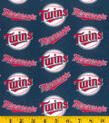 Minnesota Twins Cotton Fabric 58\u0027\u0027-Logo
