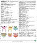 McCll\u0027s Pattern M6616 Children\u0027s Hats-All Sizes