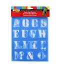 Scribbles Stencils Letters 1