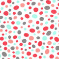 Snuggle Flannel Fabric-Coral Ava Pebbles