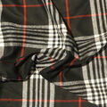 Perfectly Plaid Acrylic Fabric -Black & Red
