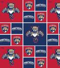Florida Panthers Cotton Fabric 43\u0027\u0027-Block