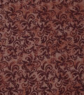 Keepsake Calico Cotton Fabric 43\u0022-Woodsmoke Textured Scroll