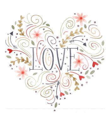 Cricut Large Heart Iron-On Design-Love