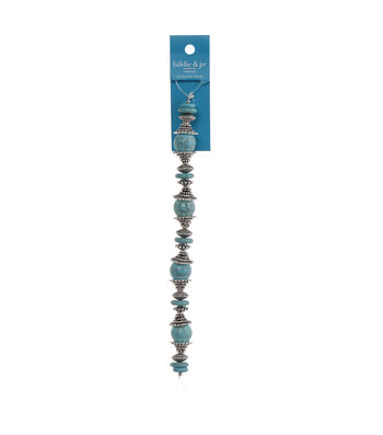 hildie & jo 7'' Turquoise Stone Strung Beads