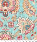 Waverly Upholstery Fabric 13x13\u0022 Swatch-Castleford Reef