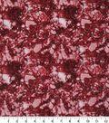 Keepsake Calico Cotton Fabric 43\u0027\u0027-Glitter on Red Snake Skin Crackle