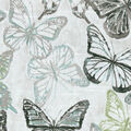 Kelly Ripa Home Upholstery Décor Fabric-Social Butterfly Shell