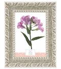 Plastic & Glass Picture Frame 5\u0027\u0027x7\u0027\u0027-Whitewash Daisy