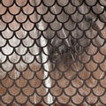 The Witching Hour Costume Fabric 59\u0022-Mermaid Foil Silver