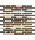 Peel & Impress 4pk-Mix Brown Marble