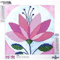 Leisure Arts Diamond Art Intermediate Kit 12\u0027\u0027X12\u0027\u0027-Modern Flower