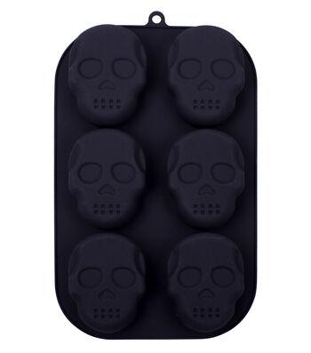 Halloween Silicone Treat Mold-Skeleton Faces