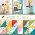 Park Lane 36 Pack 12\u0027\u0027x12\u0027\u0027 Premium Stack Printed Cardstock-Watercolor Garden