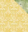 Golden Grove Double-Sided Cardstock 12\u0022X12\u0022-Greenery