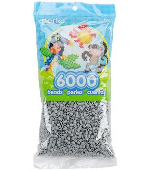 Perler 6000 pk Beads-Gray