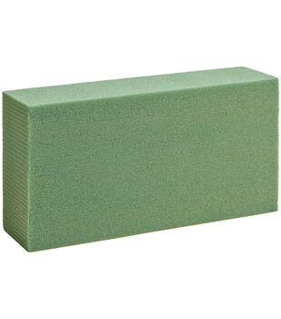 "Dry Foam Block 1.875""X11.875""X17.875"" Bulk-Green"