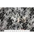 Keepsake Calico Cotton Fabric 43\u0027\u0027-Metallic & Black Crackle