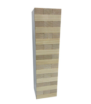 Wood Tumble Tower Game