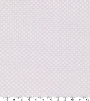 Keepsake Calico Cotton Fabric -Small Dots On White