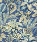 Home Decor 8\u0022x8\u0022 Fabric Swatch-Tommy Bahama Botanical Bliss Evening Sky