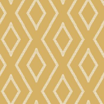 Vertical Stitch Diamond Tribal