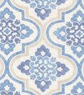 P/K Lifestyles Upholstery 8x8 Fabric Swatch-Lattice Imprint/Porcelain
