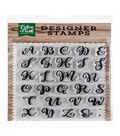 Echo Park Paper Company 29 pk Designer Stamps-Avery Uppercase