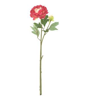 Bloom Room 27'' Peony Stem-White & Pink